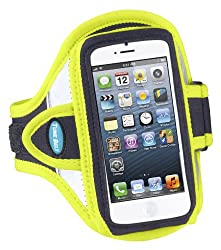 Armband for iPhone 5s, iPhone 5 and iPhone 5c;- Reflective Yellow