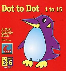 Buki Dot to Dot 1 to 15 - Penguin by Poof-Slinky (English Manual)