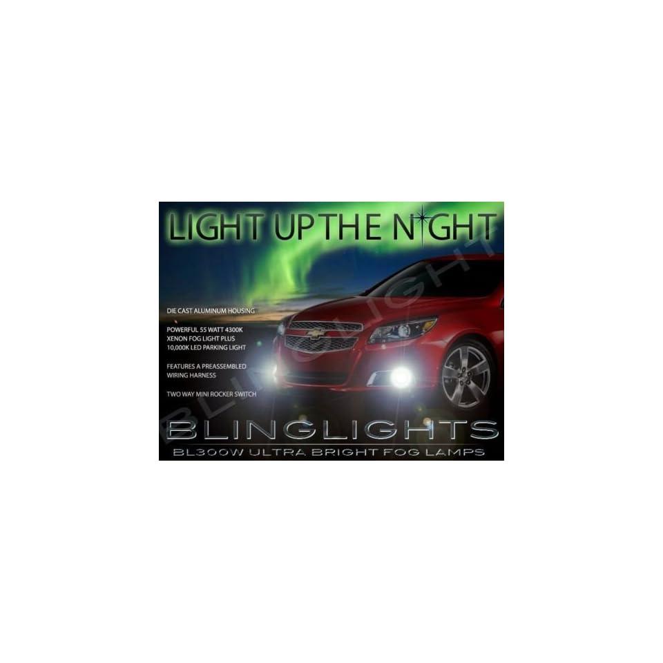 2013 2014 2015 Chevrolet Chevy Malibu Xenon Fog Lamps Driving Lights Kit