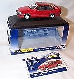 corgi vanguards red vauxhall carlton 3000 GSI RHD car 1.43 scale diecast model