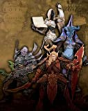World of Warcraft Series 3 Action Figure Set of 4 (Human Priestess, Draenei Mage, Undead R...