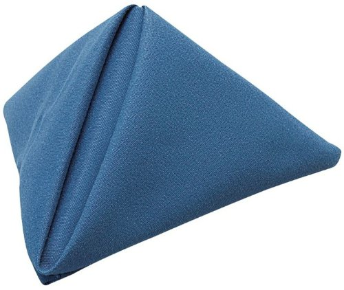 Phoenix 20 By 20-Inch Napkins, Royal Blue, Package Of 12 front-399566
