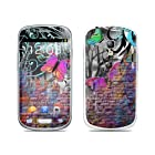 Butterfly Wall Design Protective Decal Skin Sticker (Matte Satin Coating) for Samsung Galaxy S III (Galaxy S3) Mini GT i8190 Cell Phone