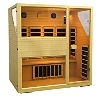JNH Lifestyles NE4HB1 ENSI Collection 4 Person NO EMF Infrared Sauna Limited Lifetime Warranty