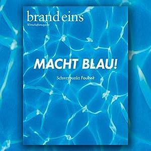 brand eins audio: Faulheit Audiomagazin