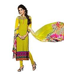 Admyrin Women Crepe Dress Material (Ay-Sk-Scr-6103 _Yellow _44)