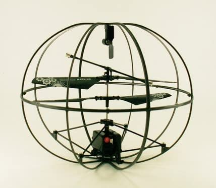 ROBOTIC UFO ?ジャイロ搭載球体ボール型3ch赤外線ラジコンヘリコプター 球体ヘリTHE UFO