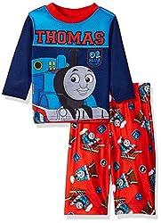 Thomas the Train Boys' 2-Piece Pajama Set, Blue, 18 Months