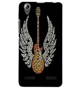LENOVO A6000 PLUS GUITAR Back Cover by PRINTSWAG