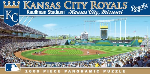 MasterPieces MLB Kansas City Royals Stadium Panoramic Jigsaw Puzzle, 1000-Piece at Amazon.com