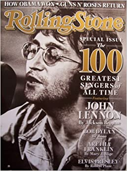 Rolling Stone Issue 1066 [John Lennon cover] November 27, 2008