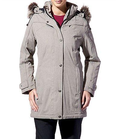 Schöffel Olivia Damen Winter Jacke Mantel, beige jetzt bestellen