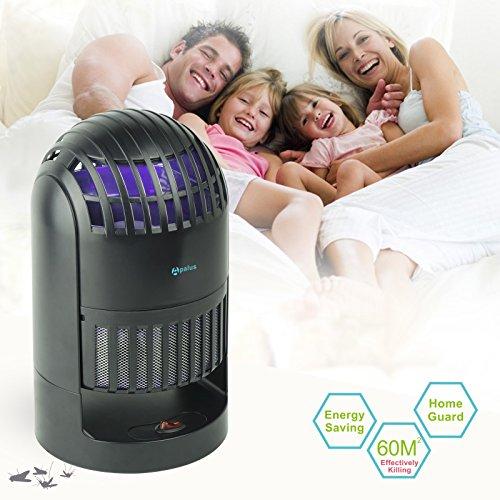 apalus led uv m ckenfalle elektrische m ckenfalle f r drinnen m cken beseitiger mit. Black Bedroom Furniture Sets. Home Design Ideas