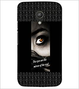 PrintDhaba Quote D-2470 Back Case Cover for MOTOROLA MOTO G2 (Multi-Coloured)