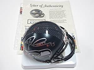 Buy Russell Wilson Seattle Seahawks Signed Autographed Mini Helmet Authentic Certified Coa