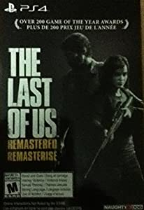 The Last of Us Remastered - PS4 [Digital Code] Download card/Voucher