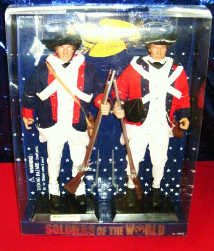 Picture of Formative International Soldiers of the World American Patriot 1776 Two 12