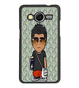 PrintDhaba Cartoon D-5753 Back Case Cover for SAMSUNG GALAXY CORE 2 G355H (Multi-Coloured)