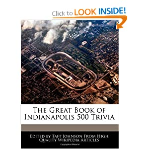 The Great Book of Indianapolis 500 Trivia Taft Johnson