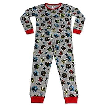 Angry Birds Grenouillère | Garcon Angry Birds Ensemble de Pyjama| 7-8 ans