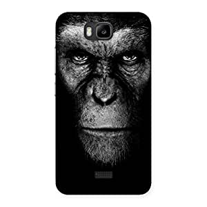 Delighted Chimp King Black Back Case Cover for Honor Bee