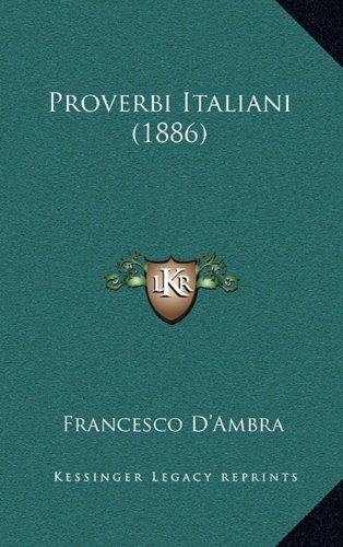 Proverbi Italiani (1886)