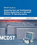 img - for MCDST 70-272: Applications on MS Windows XP Operating System by Ron Carswell (2008-03-25) book / textbook / text book