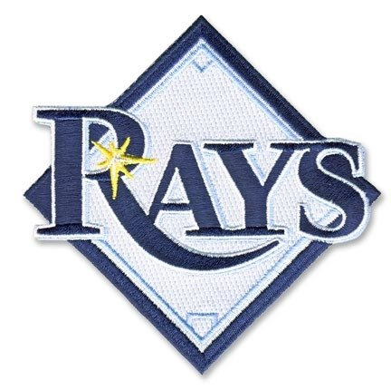 Tampa Bay Rays Primary Team Logo Patch