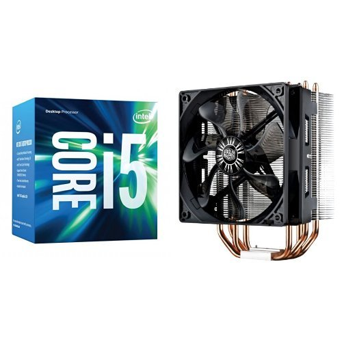 Intel Core i5 6500 3.20 GHz Quad Core Skylake Desktop Processor & Cooler Master - CPU Cooler with 120mm PWM Fan  Bundle (Cpu Quad Core I5 compare prices)