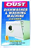 Oust Descaler: Dishwasher & Washing Machine (2 x 50ml Sachets) (Electruepart, Consumable) Professional formula for rapid removal of scale deposits