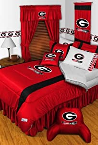 Georgia Bulldogs NCAA Sidelines Complete Bedroom Package by Sports Coverage