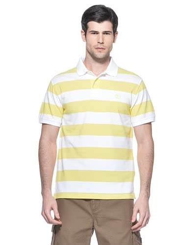 Timberland T-Shirt Rugby [Bianco/Giallo]