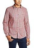 John Miller Men's Casual Shirt (8907130943868_1Vs02602_44_Red)