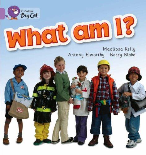 Collins Big Cat - What Am I?: Band 00/Lilac