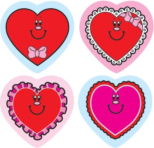 Carson Dellosa Valentine Hearts Shape Stickers (5229)