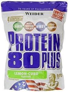 Weider Protein 80 Plus, Zitrone-Quark, 500g Beutel