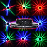 TSSS® Magic Color Super Bright Strobe LED Stage Lights~Best Design For Pub,Show,Wedding,Disco,Ball,Looks Like An UFO~