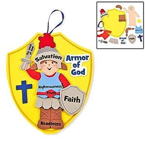 Armor of God Kids Craft Kit (1 dz)