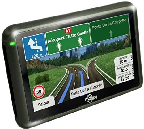 Mappy ULTI X570 GPS Eléments Dédiés à la Navigation Embarquée Europe Fixe, 16:9