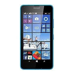 Microsoft Lumia 640 Smartphone débloqué 4G (Ecran : 5 pouces - 8 Go - Double SIM - Windows Phone 8.1) Bleu