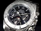 エルジン ELGIN クロノグラフ 腕時計 FK1120S-BN