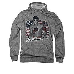 Muhammad Ali American Legend Pull Over Hoodie