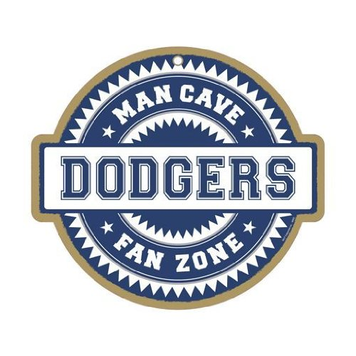 Los Angeles Dodgers Man Cave Fan Zone Wood Sign