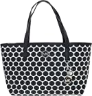 Michael Kors Handbag Kiki Medium Tote White/Black
