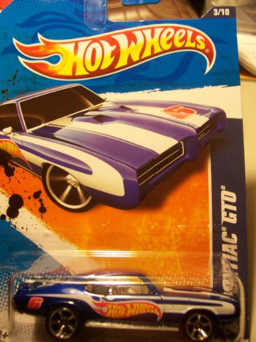Hot Wheels HW Racing '11 3/10 '69 Pontiac GTO 153/244