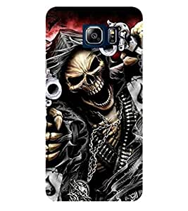 Evaluze danger sign Printed Back Case Cover for SAMSUNG NOTE 5 (2015)