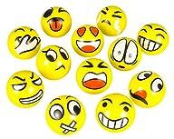 FUN Emoji Face Squeeze Balls- 12 ~ 3′…