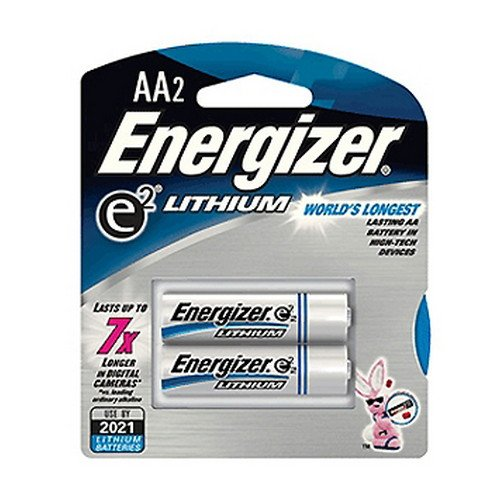 Energizer e2 Lithium Batteries AA (Per 2) kiteveen91rac79132 value kit lysol brand disinfectant spray to go rac79132 and energizer industrial alkaline batteries eveen91