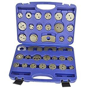 Brake Calliper Pad Piston Wind Back Adaptor Set 35pcs Kit AT884
