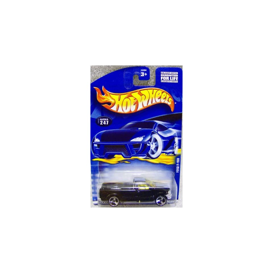 Mattel Hot Wheels 2000 Issue #247 Black Ford F 150 Truck 164 scale